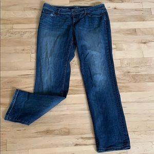 LOFT curvy straight jeans 👖